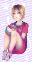 Kenma AKA the bae by RingaButt