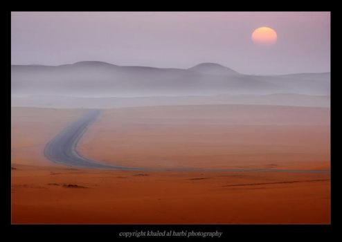 Desert Path of Imagination by itash