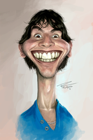 Self Caricature by TomRutjens