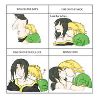 Kissing meme by SparxPunx