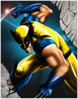 Wolverine by SeanyP40