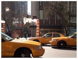 Symbols of New York by vickibruce
