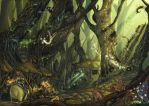 eredin forest by arf