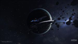 Star Trek Online - Kumari Escort Wallpaper 1080P by ObsidianDigital