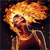 Girl on Fire by Light-Hiruma