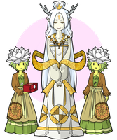 Pai Sho Priestess ( Adopted ) by Fictional-Roulette