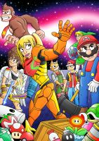 Smash Bros Assemble by Gnarlee