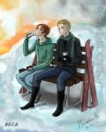 Winter of Gerita - Hetalia by Zamarazula