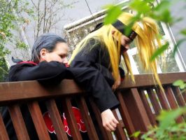 Hidan Deidara Cosplay dream by Moin2D