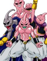 Anime Classics DBZ Buu by Wyvern07
