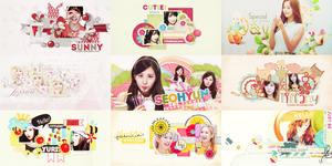 Happy 7th Anniversary SNSD by VyTuzki