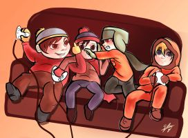 Videogames time by Neon-Lady