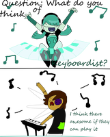 Question: Keyboardists by Ask-RaggedyServant