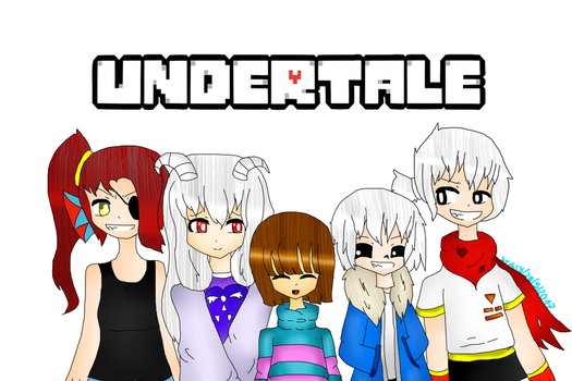 Undertale Drawing #2 by StacyTheKiller