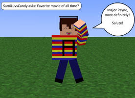 Question One (Favorite Movie?) by SkyloxAndMinecraft