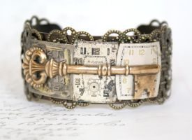Key to time cuff by Archaic76
