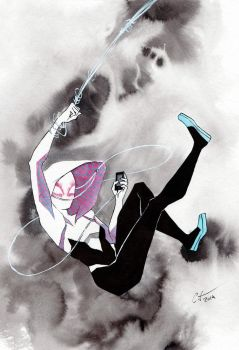 Spidergwen by Nomimo