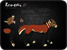 OLD Reneah Ref Sheet by Reneah