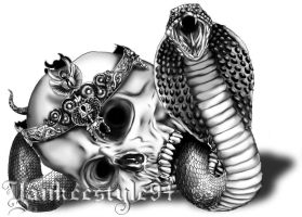 King Cobra TATTOO by Yankeestyle94