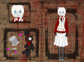 DIGITAL: Creepypasta Academy- Slender Doll Ally by InvaderIka
