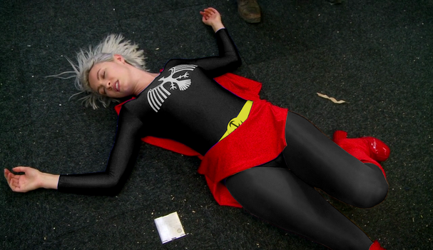 Black and Red Infinity Girl ko'd (Bodysuit) by blx666