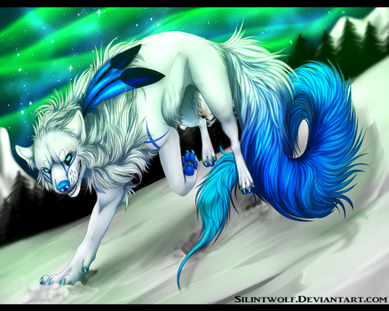 .:Gift:. I am the Queen of this eve by SilintWolf