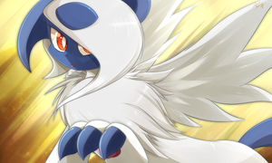 Mega Absol by ZymonasYH