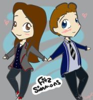 FitzSimmons by snazzyarts