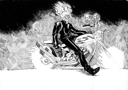 Ghost Rider by TheAdrianNelson