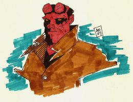 Hellboy - The World Destroyer by Gat0rl1veBEATZ