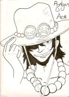 Portgas D. Ace by CanadianGothStalker
