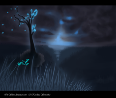 Lonely tree by Im-Shine