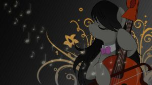 Octavia's Smooth Music Wallpaper by ALoopyDuck
