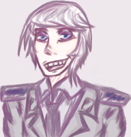 Alfred when he was a normal human by neltu20