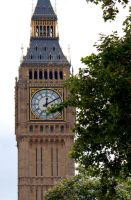 London Summer 2012 Big Ben by LJNPhotography