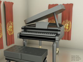 3D Grand Piano - Octane 2 by ChibiYugi