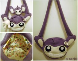 Aipom Bag by sorjei