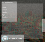 Hazard Zone: Pet Application by Neravirat