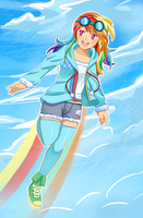 Rainbow Dash for Turbocharge0 by Reaper145
