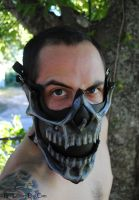 Leather Demonic Skull Motorcycle Riding Mask 3 by Epic-Leather