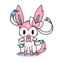 Sylveon black version by Lemon-Heartss