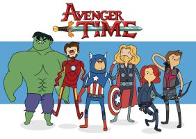Avenger Time by cheesefred