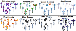 Team Mystic Items-Symbols by Oceanfairydust