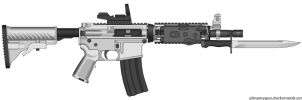Ultimate M4A1 by jon646an2