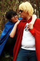 Homestuck Shooting 004 by xHaku-chanx