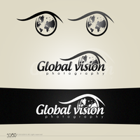 Global Vision Logotype by HinataDesign