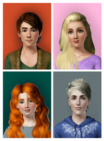 Rise of the Brave Tangled Sims by supereilonwypevensie