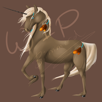 WIP - indian unicorn by Bimmerd