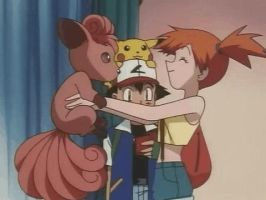 Misty got scorched gif from Pokemon ep028 by yoswallow