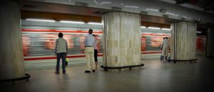 metro in Prague II by brejky